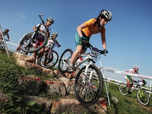 Jogos Olímpicos da Juventude 2010 - Fotos MTB australia