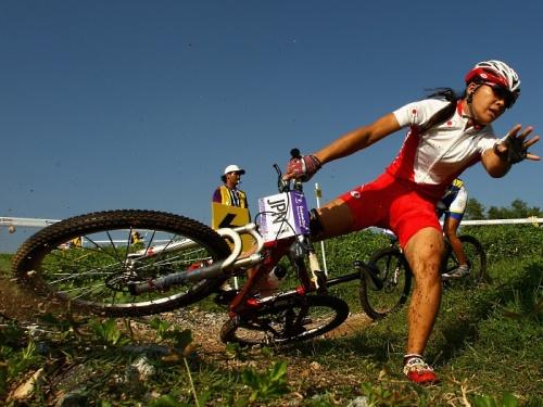 Jogos Olímpicos da Juventude 2010 - Fotos MTB japan