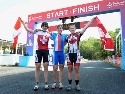 junior women cross country cingapure winners